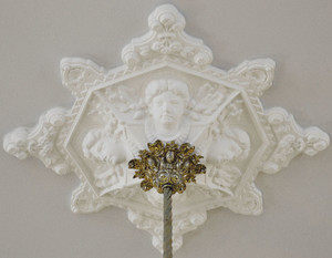 Recreated-Victorian-Female-Faces-and-Flowers-Plaster-Ceiling-Medallion-35-inch-Diameter-(ZK-17)