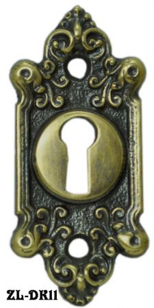 Antique Recreated Rococo Style Keyhole (ZL-11)
