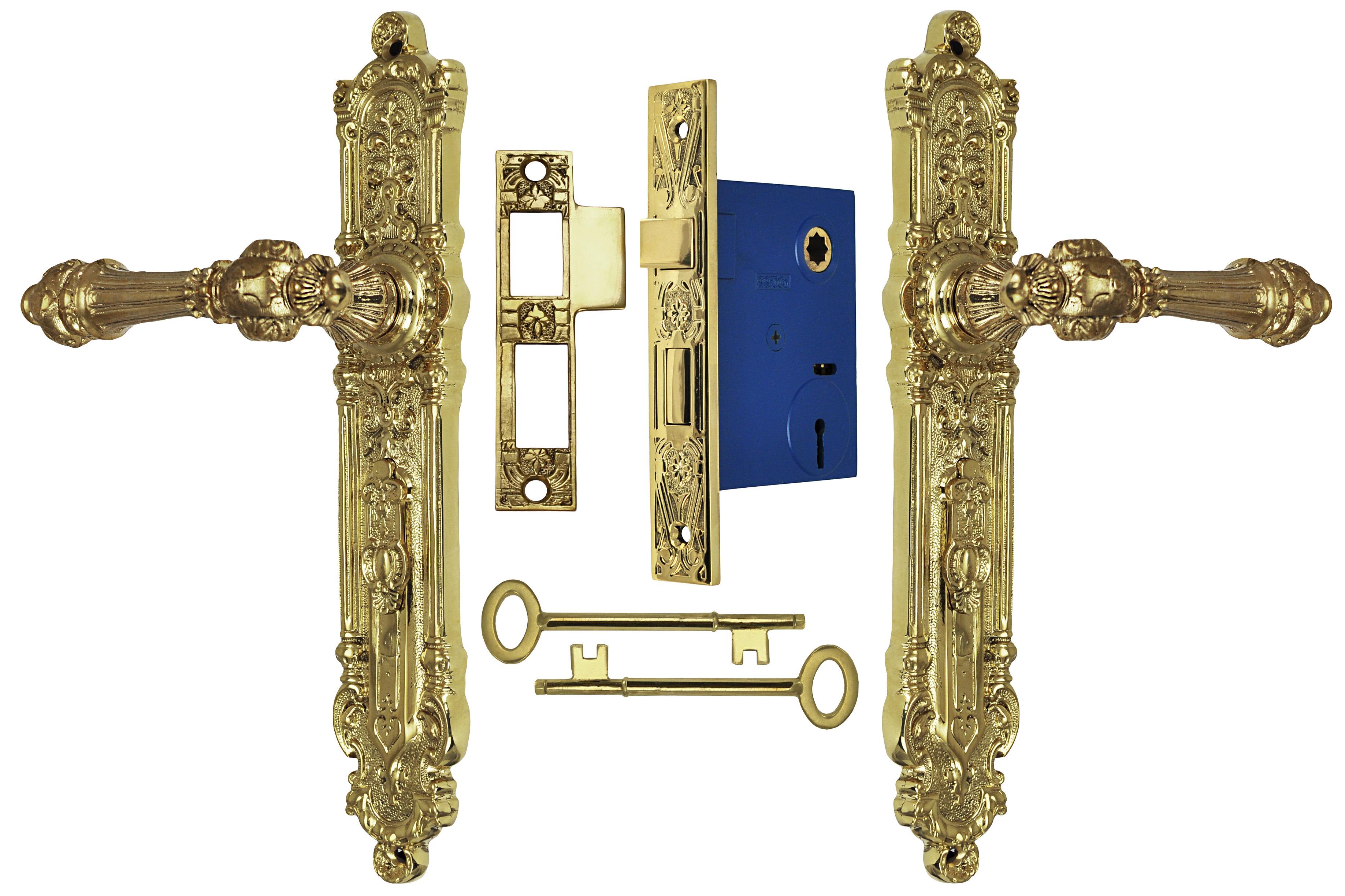 Unlacquered Brass Cabinet Hardware