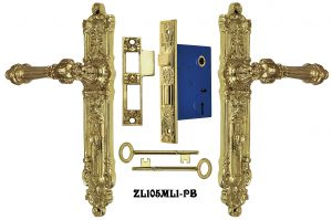 French-Victorian-Narrow-Door-Set-with-2.25-Inch-Backset-Mortise-Lock-(ZL105ML1)