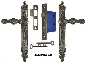 French-Victorian-Narrow-Door-Set-with-2.625-Inch-Backset-Mortise-Lock-(ZL105ML2)