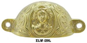 Victorian-Lady-Large-Bin-Pull-3.375-inch-Boring-(ZLW-129L)