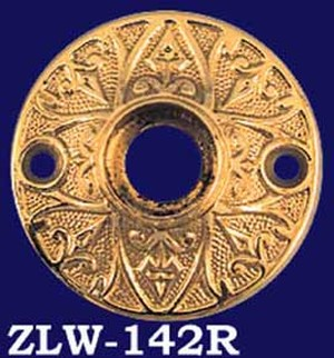 Stylishly Detailed Victorian Doorknob Rose (ZLW-142R)
