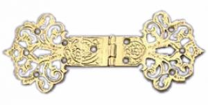 "Asian Victorian Style Chinese D Hinge 6 3/8"" X 2 5/8"" (ZLW-146H)"