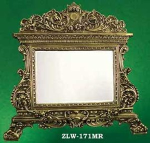 Beautiful Ornate Victorian Mirror (ZLW-171MR)