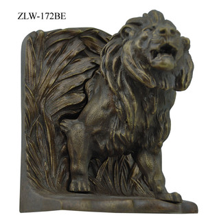 Lion-Bookends-By-Bradley-and-Hubbard-(ZLW-172BE)
