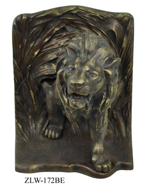 Lion Bookends By Bradley & Hubbard (ZLW-172BE)