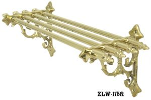 "Ornate Victorian Bathroom Towel Shelf 19"" Long (ZLW-175R)"