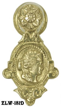 Lady Cameo Pull Or Knocker (ZLW-181D)
