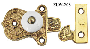 Porcelain Knob Cupboard Latch (ZLW-208)