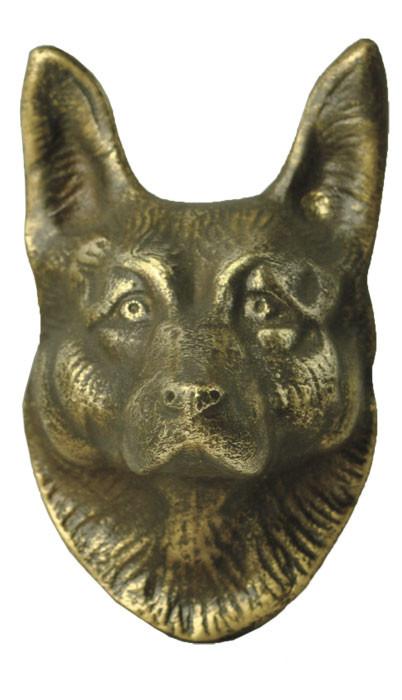Vintage hardware lighting door wolf or shepherd dog door knocker zlw 217 - Wolf head door knocker ...