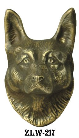 Door Wolf Or Shepherd Dog Door Knocker (ZLW-217)