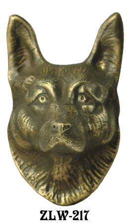 Door Wolf Or Shepherd Dog Door Knocker (ZLW 217)