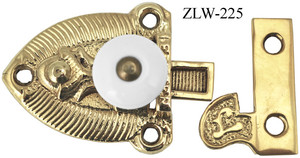 Porcelain Knob Cupboard Latch (ZLW-225)