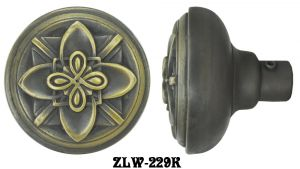 Victorian Recreated Amiens Design Byzantine Gothic Door Knob (ZLW-229K)
