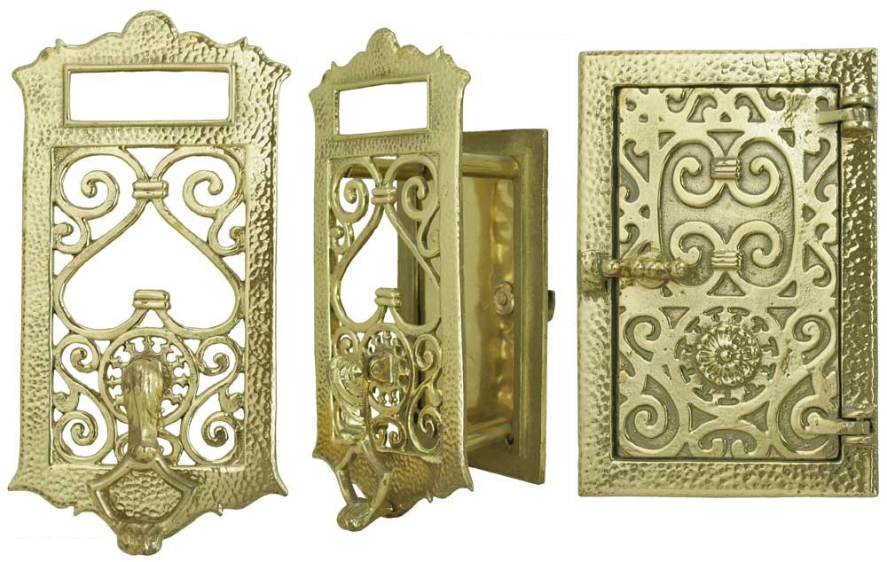 Antique door peepholes vintage accessory