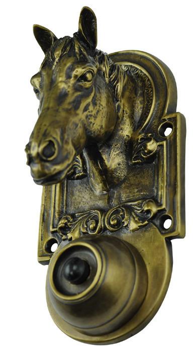 Horse Head Doorbell Zlw 271bl
