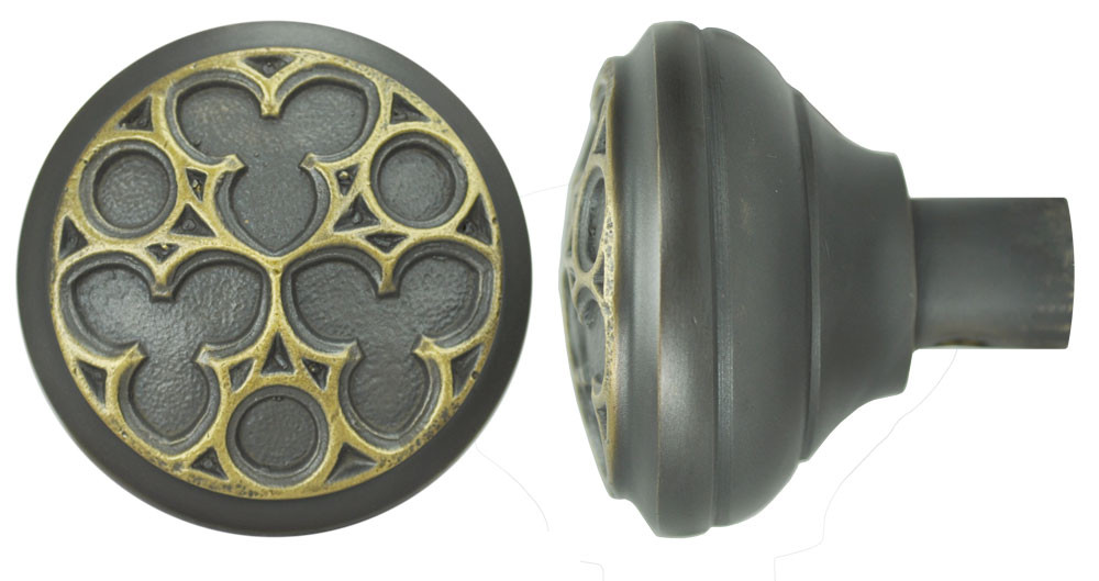 Victorian Recreated Amiens Gothic Door Knob Zlw 274k