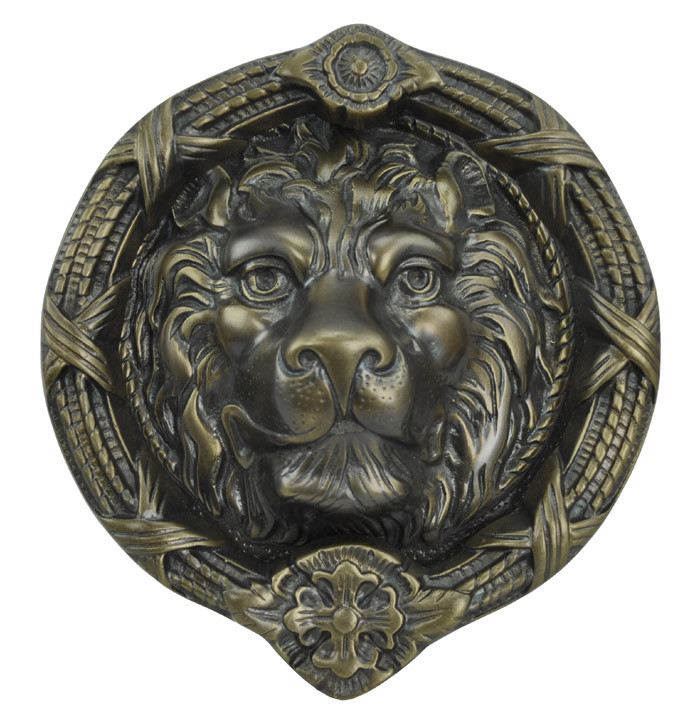MGM Lion Door Knocker   Choice Of Finish (ZLW 27MGM)
