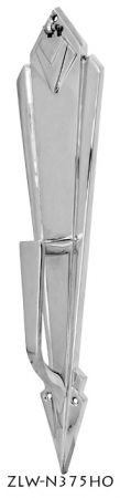 Door Art Deco Handle Only Backplate (ZLW-375HO)