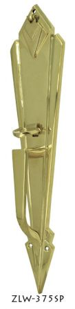 Door-Art-Deco-Entry-Door-Handle-With-Thumblatch-(ZLW-375SP)