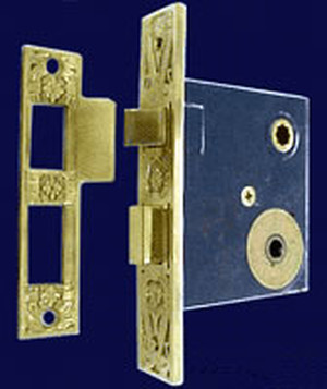 "Turnlatch Mortise Lock 2 1/4"" Backset (ZLW-400TL)"