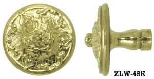 "Antique Style French Empire Knob 2 1/8"" (ZLW-49K)"