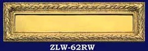 Victorian Ribbon And Wreath Mail Slot (ZLW-62RW)