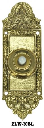 Regal Victorian Electric Push Button Doorbell (ZLW-70BL)