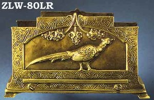 Letter or Napkin Holder Pheasant Motif (ZLW-80LR)