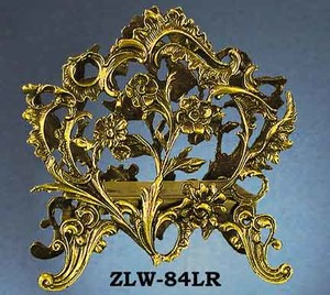 Letter or Napkin Holder Victorian Flower Motif (ZLW-84LR)