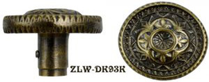 Victorian Fancy Screen Door Knob (ZLW-93K)