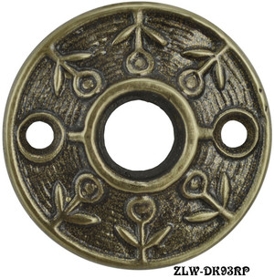 Victorian Screen Door Knob Rosette Lost Wax Cast (ZLW-93RP)