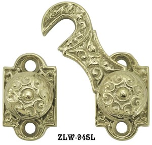 R&E Recreated Shutter Bar Hook Latch And Catch (ZLW-94SL)