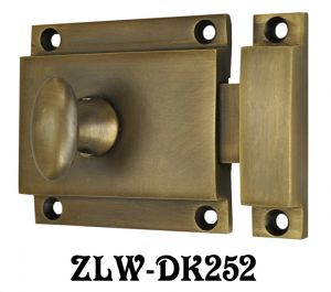 Brass-Turn-Latch-with-Surface-Catch-(ZLW-252)