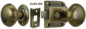 Screen Door Knob to Knob Latch Set (ZLW5-1)