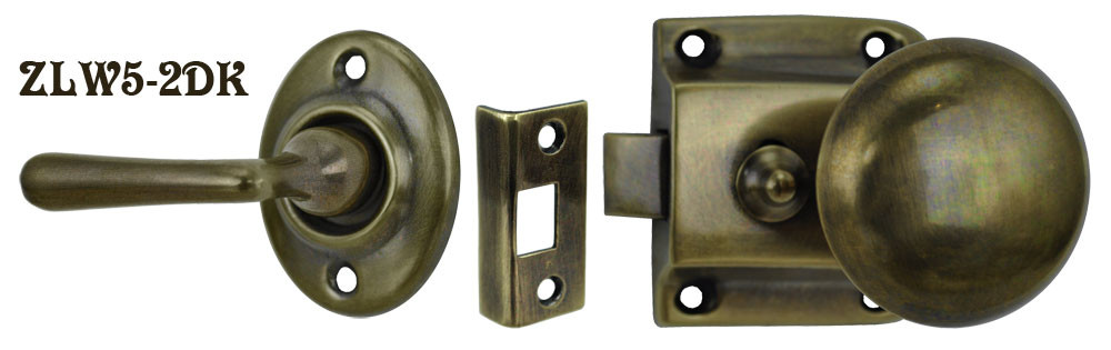 ZLW5 2__Screen_Door_Knob_to_Lever_Latch_Set_B
