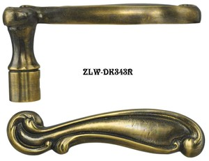 Antique-French-Lever-Handle-Right-(ZLW-343R)