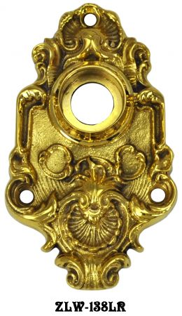 Victorian Scallop Design Doorknob Rose (ZLW-138LR)