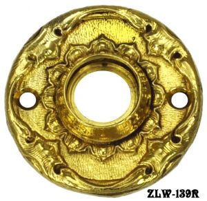 Finely Cast Antique Style Doorknob Rose (ZLW-139R)