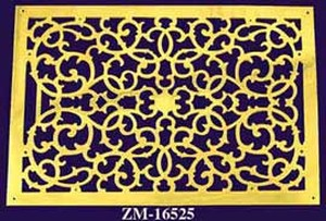 "Grille Recreated Large 18"" X 26 1/2"" Floor, Ceiling, Or Wall Grate For Air Or Heat Vents. Register Cover (ZM-16525)"