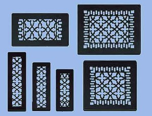 Antique-Recreated-Cast-Iron-Floor-Ceiling-Or-Wall-Grate-For-Air-Or-Heat-Vent.-Register-Cover-Without-Dampers.-Sizes:-2.25-inch-x-10-to-14-inch-x-16-inch(ZM-IR-210)