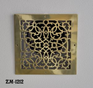 Grille-Recreated-Brass-Floor-Ceiling-Or-Wall-Grate-For-Air-Or-Heat-Vents.-Register-Cover-12-inch-X-12-inch-(ZM-1212)