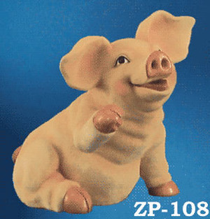"Pig 6.5"" Tall & 7"" Wide (ZP-108)"