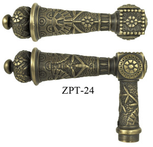 Windsor-Pattern-French-Door-Handle-(ZPT-24)