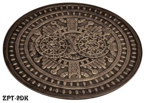 Windsor Pattern Victorian Decorative Floor Outlet Electrical Cover (ZPT-9)