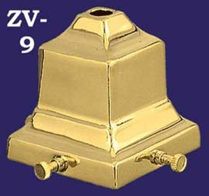 "2 1/4"" Mission Style Shade Fitter (ZV-9)"
