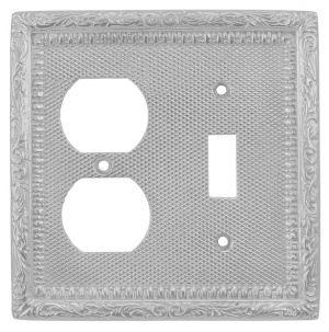 Victorian-Decorative-Switch-and-Electrical-Outlet-Plug-Combo-Switchplate-Cover-(L-W11)