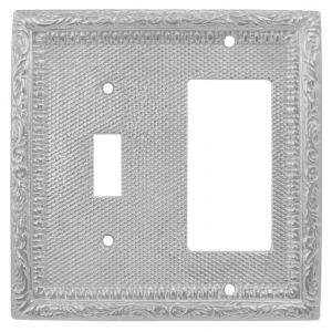 Victorian-Decorative-Solid-Brass-GFI-and-Light-Switch-Combination-Cover-Plate-(L-W16)