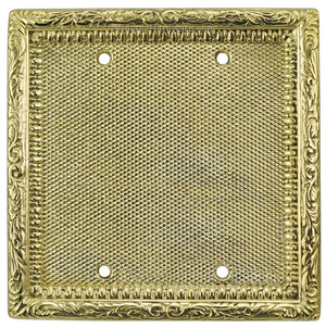 Victorian Decorative Blank Cover for Double Box (L-W10)